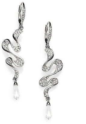 Adriana Orsini Faceted Ruffle Drop Earrings