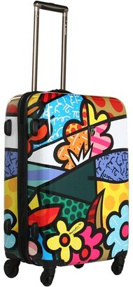 Heys Britto Collection - Landscape Flowers 26 Spinner Case (Flowers) - Bags and Luggage