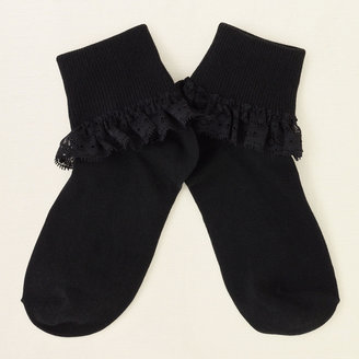Children's Place Lace ruffle socks