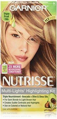 Garnier Nutrisse Nourishing Color Creme, H2 Golden Blonde (Packaging May Vary) $7.99 thestylecure.com