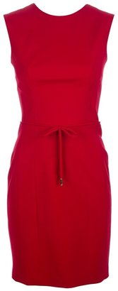 DSquared Dsquared2 sleeveless fitted dress