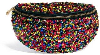 Asos Bumbag With Sequin Embellishment - Multi