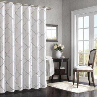 Bed Bath & Beyond BombayTM Garrison 72-Inch x 72-Inch Shower Curtain in White