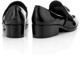 3.1 Phillip Lim Black Embellished Quinn Loafers