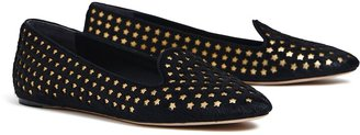 Tory Burch OLYMPIA CALF HAIR LOAFER