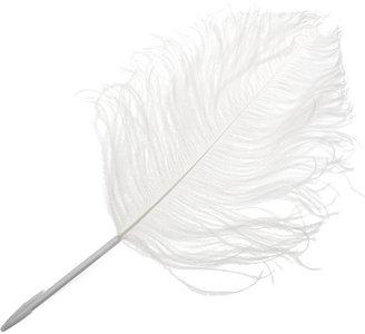 Maison Martin Margiela by L'ATELIER d'exercices Ostrich feather pen