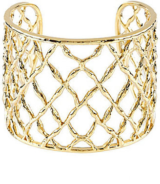 Nadri Basket-Weave Large Cuff