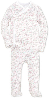 Ralph Lauren Baby Set, Baby Girls Floral Printed Kimono Two Piece Set $35 thestylecure.com