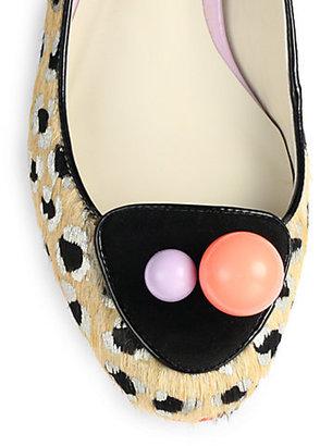 Webster Sophia Millie Calf Hair Loafers