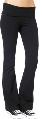 So Low Solow Jersey Foldover Yoga Pants