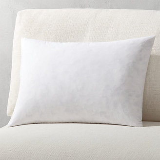 CB2 Feather-Down Rectangular Pillow Inserts