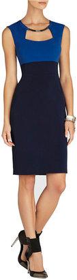 BCBGMAXAZRIA Clara Color-Blocked Sheath Dress