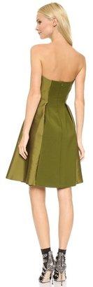 Alberta Ferretti Collection Strapless Dress