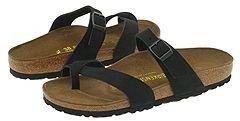 Birkenstock Cozumel Silky Suede (Black Silky Suede) - Footwear
