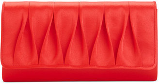 La Regale Handbag, Pleated Evening Clutch