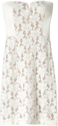 Rebecca Taylor Strapless Lace Dress