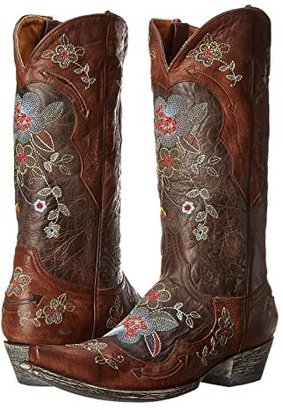 Old Gringo Bonnie 13 (Chocolate/Brass) Cowboy Boots