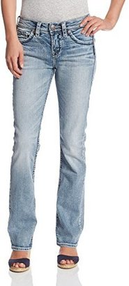 Silver Jeans Women's Suki High-Rise Baby Bootcut Jean $48.99 thestylecure.com