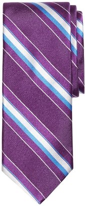 Brooks Brothers Natte Wide Stripe Tie