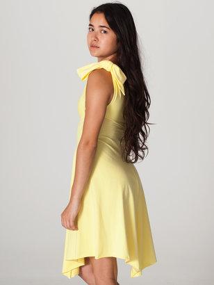 American Apparel Cotton Spandex Jersey Bandeau Dress