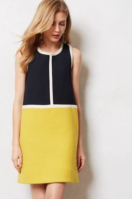 Anthropologie Piped Colorblock Shift