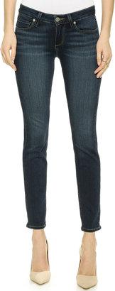 PAIGE Transcend Verdugo Ankle Skinny Jeans $179 thestylecure.com