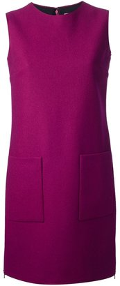 Victoria Beckham Victoria sleeveless shift dress