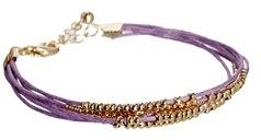 Asos Bead Friendship Bracelet - Lilac