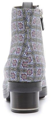 Nicholas Kirkwood SUNO x Floral Print Booties