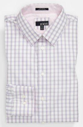 1901 Trim Fit Dress Shirt Lavender Plaid 18 - 36/37