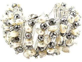 JCPenney Pannee Simulated Pearl Bracelet