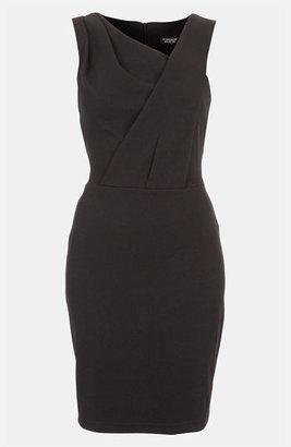 Topshop Pleated Bodice Dress