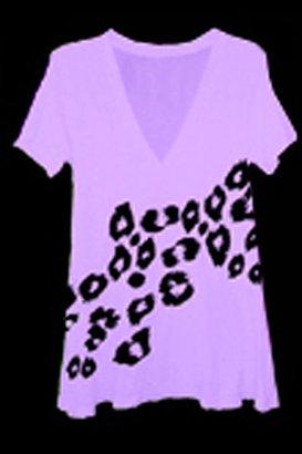 Wildfox Cheetah Spots T-Shirt