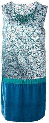 P.A.R.O.S.H. damask dress