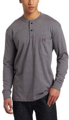 Wrangler Men's Riggs Workwear Long Sleeve Henley Tee