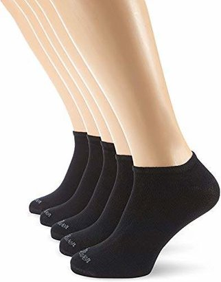 S'Oliver Socks Men's S24118 Ankle Socks, Black 0005), (Pack of 5