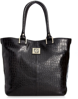 Anne Klein Handbag, Perfect Large Croco Tote
