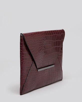 BCBGMAXAZRIA Clutch - Croco Envelope