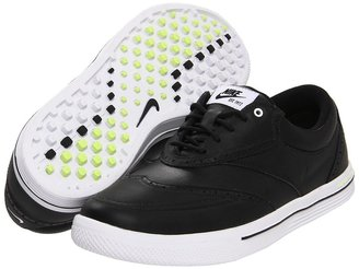 Nike Lunar Swingtip - Leather (White/Gum Brown/Volt/White) - Footwear