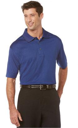 PGA TOUR PRO SERIES Mini Jacquard Golf Polo