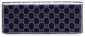 Gucci Broadway Guccissima Leather Evening Bag, Purple