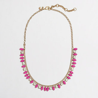J.Crew Factory Factory thorn and crystal necklace