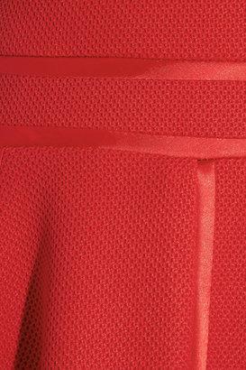 Paul & Joe Ghilain satin-trimmed textured-jersey dress