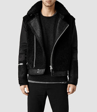 Talbot Shearling Leather Coat
