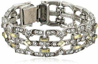 "Ben-Amun Jewelry ""Crystal Deco"" Jonquil Bracelet"
