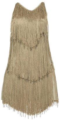Azzaro fringe dress