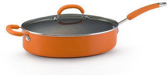 Rachael Ray Porcelain II Nonstick 5 Qt. Covered Oval Sauté
