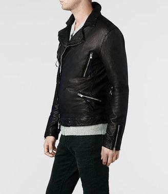 AllSaints Peyto Leather Biker Jacket
