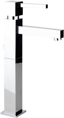 Abode Zeal Single Lever Basin Mixer Bathroom Tap, H295mm