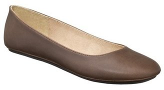 Mossimo Womens Odell Ballet Flats - Mid Brown